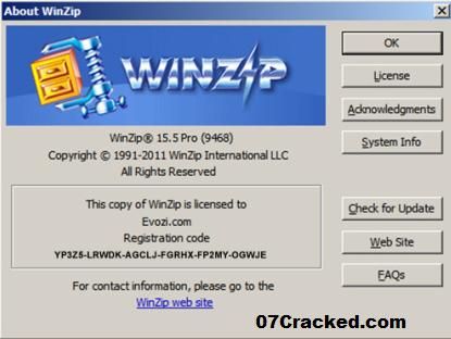 WinZip Pro Key