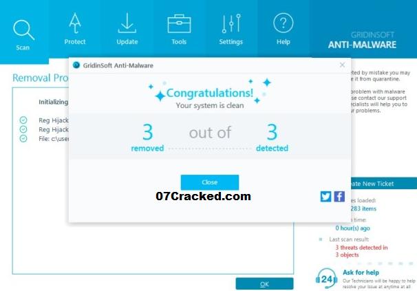 GridinSoft Anti-Malware Key