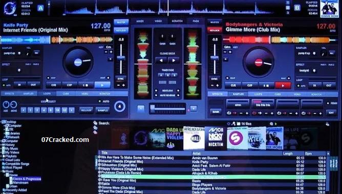 Virtual DJ Key